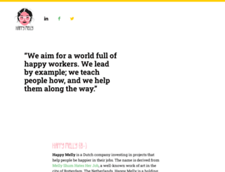 happymelly.com screenshot
