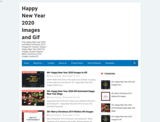 happynewyearmsg.com screenshot