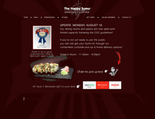 happysumosushi.com screenshot