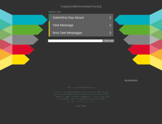 happyvalentinedaysms.org screenshot