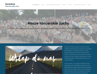 harcerski.pl screenshot