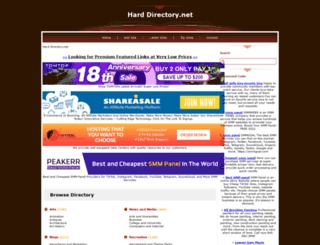 harddirectory.net screenshot