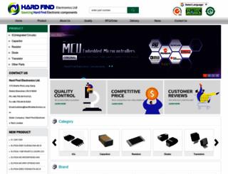 hardfindelectronics.com screenshot