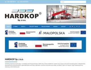hardkop.pl screenshot