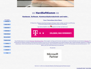 hardsoftkomm.de screenshot