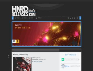 hardstyle-releases.com screenshot