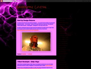 hardstylelovers.blogspot.com screenshot