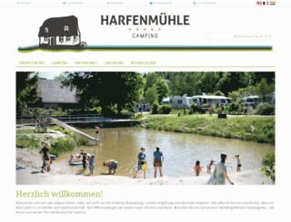 harfenmuehle.de screenshot