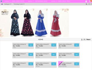 hargabaju.com screenshot