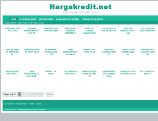 hargakredit.net screenshot