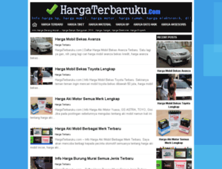 hargaterbaruku.com screenshot