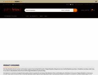 haridwarrudraksha.com screenshot