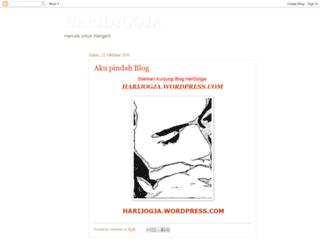 harijogja.blogspot.com screenshot