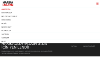 harikadizayn.com screenshot