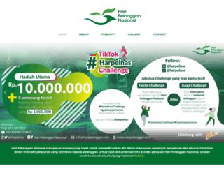 haripelanggan.com screenshot