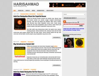 harisahmad.com screenshot