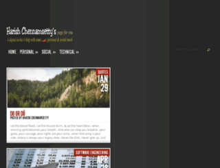 harish.p4u.in screenshot