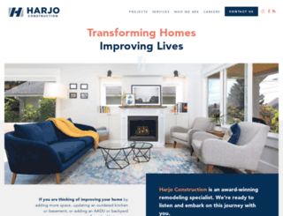 harjoconstruction.com screenshot