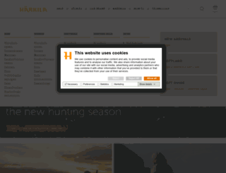 harkila.com screenshot