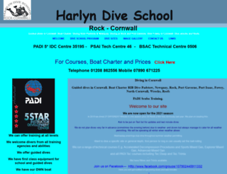 harlyndiveschool.co.uk screenshot