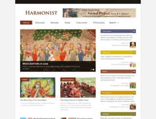harmonist.us screenshot