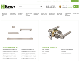 harneyhardware.com screenshot