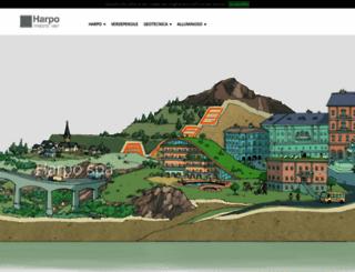 harpo-group.com screenshot