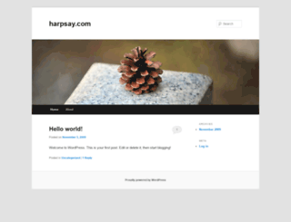 harpsay.com screenshot