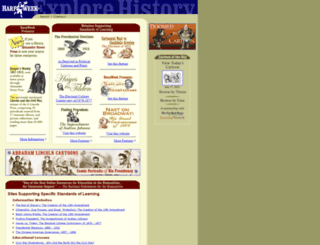 harpweek.com screenshot