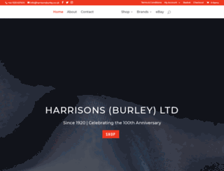 harrisonsburley.com screenshot