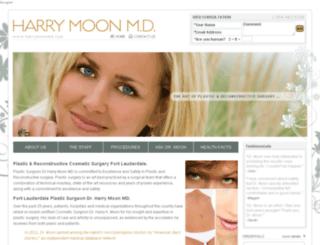 harrymoonmd.com screenshot