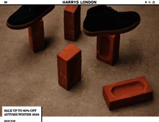 harrysoflondon.com screenshot