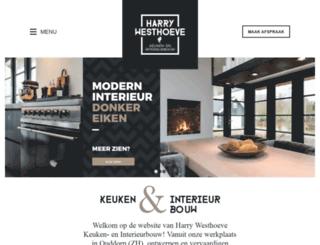 harrywesthoeve.nl screenshot