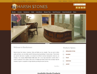 harshstones.com screenshot