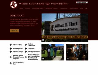 hartdistrict.org screenshot