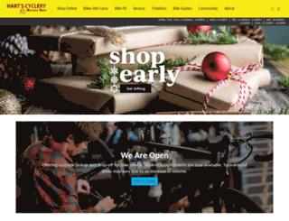 hartscyclery.com screenshot