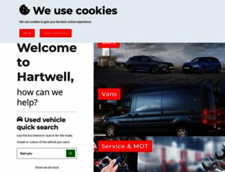 hartwell.co.uk screenshot