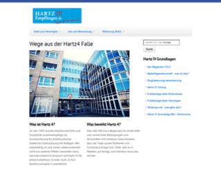 hartz-4-empfaenger.de screenshot