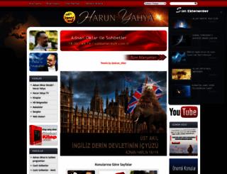 harunyahya.org screenshot
