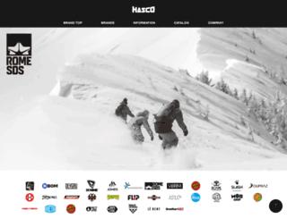 hasco.co.jp screenshot