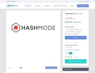 hashmode.com screenshot