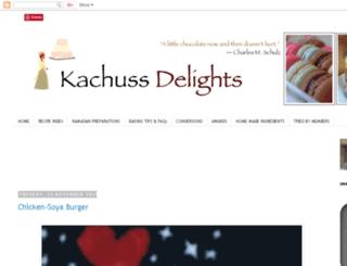 hasnasdelights.blogspot.com screenshot