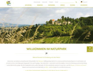 hassberge-tourismus.de screenshot
