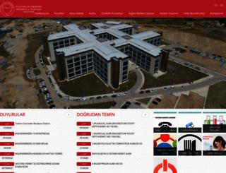 hastane.bozok.edu.tr screenshot