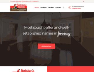 hatchersfloors.com screenshot