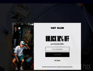 hatclub.com screenshot