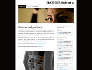 hathorsaison2.wordpress.com screenshot