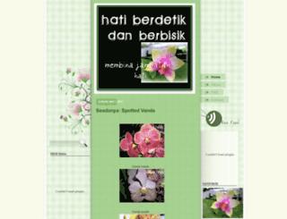 hatiberdetikdanberbisik.blogspot.com screenshot