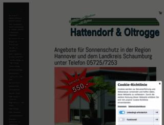 hattendorf-oltrogge.de screenshot