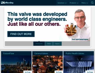 hattersley.com screenshot